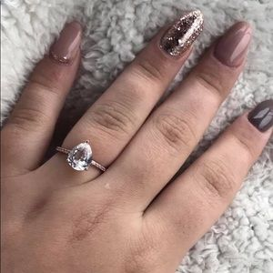 Kay Jewelers Tear Drop Ring
